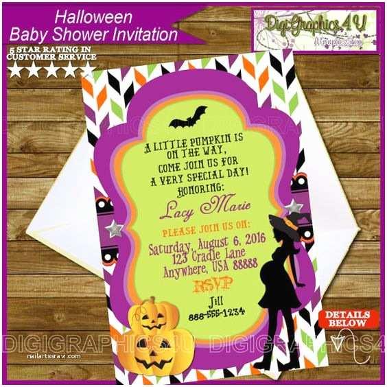 Halloween Baby Shower Invitations Pinterest • the World's Catalog Of Ideas