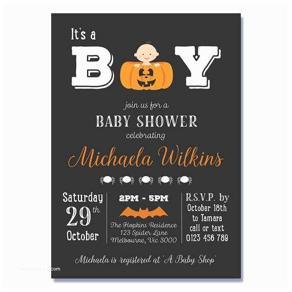 Halloween Baby Shower Invitations Pumpkin Baby Shower Invitations Printable Halloween