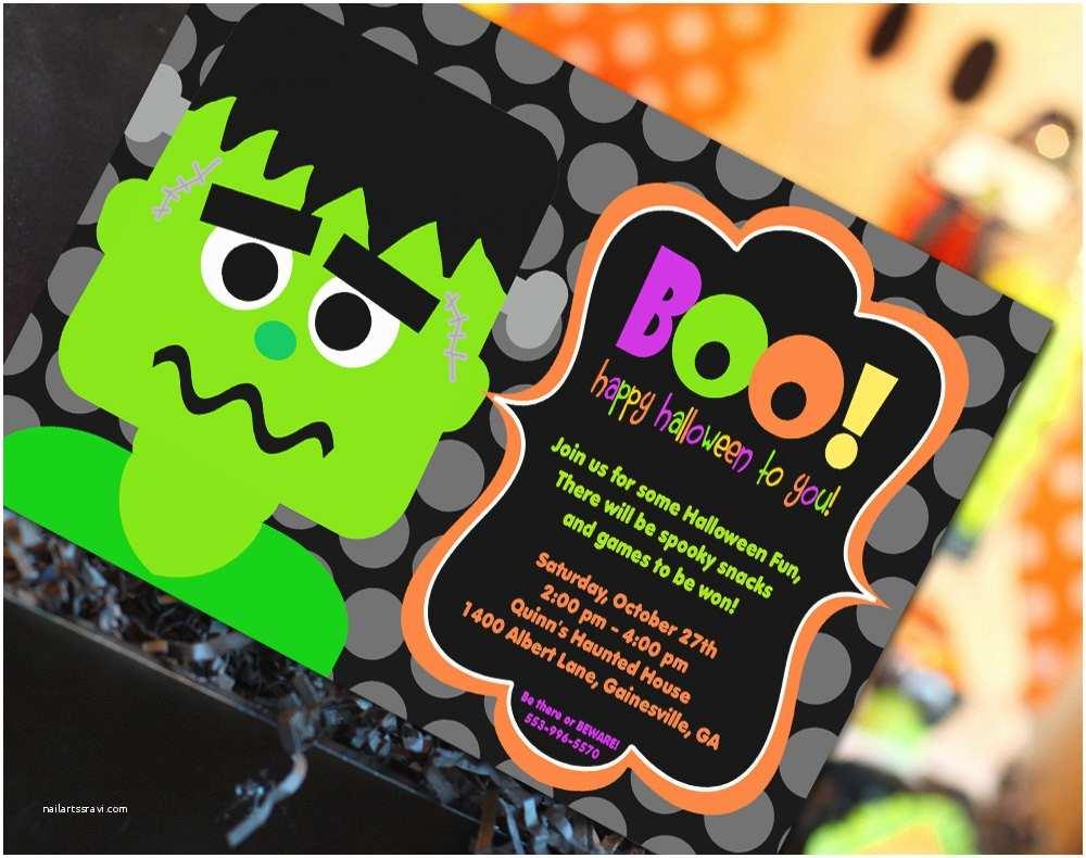 Halloween Birthday Invitations Halloween Invitation Halloween Party Invitation