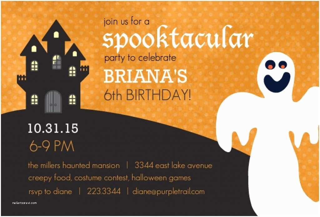 Halloween Birthday Party Invitations Halloween Birthday Invitations Printable – Festival