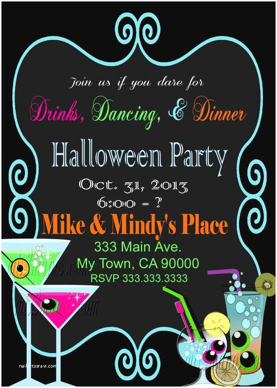 halloween party invitation office party