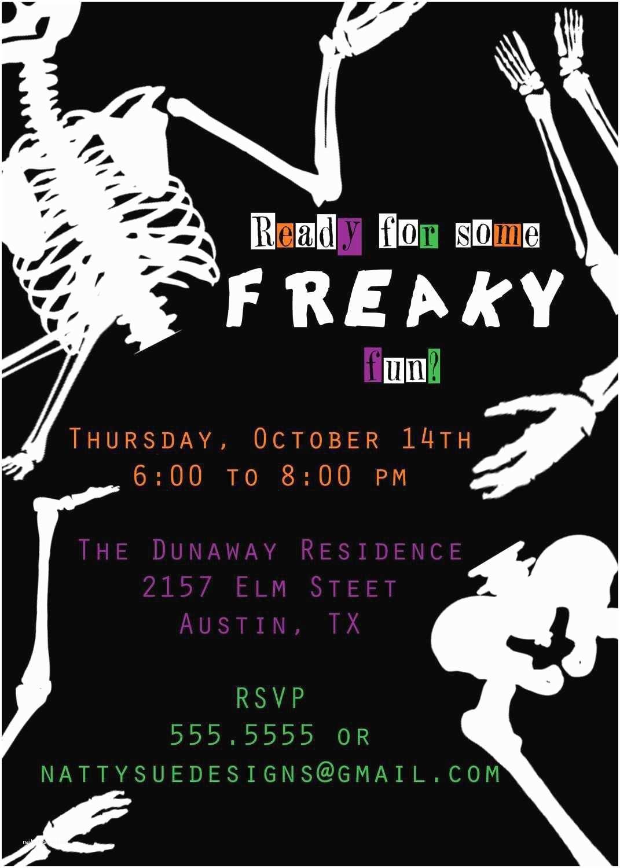 Halloween Birthday Party Invitations Halloween Party Invitation Ideas
