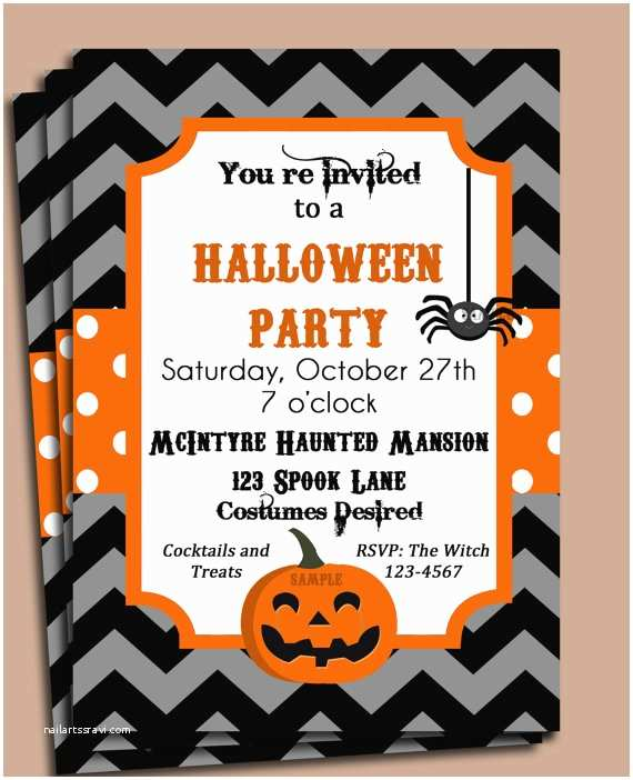 Halloween Birthday Party Invitations Halloween Party Invitation Printable – Festival Collections