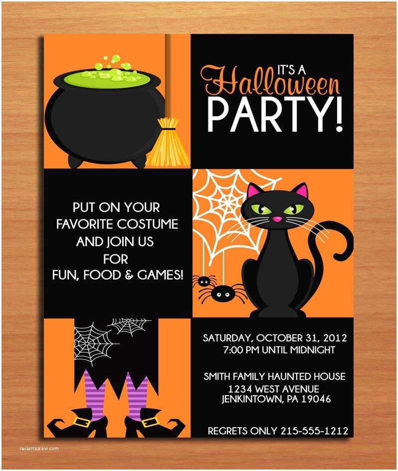 Halloween Costume Party Invitations Halloween Party Invitation Ideas – Festival Collections