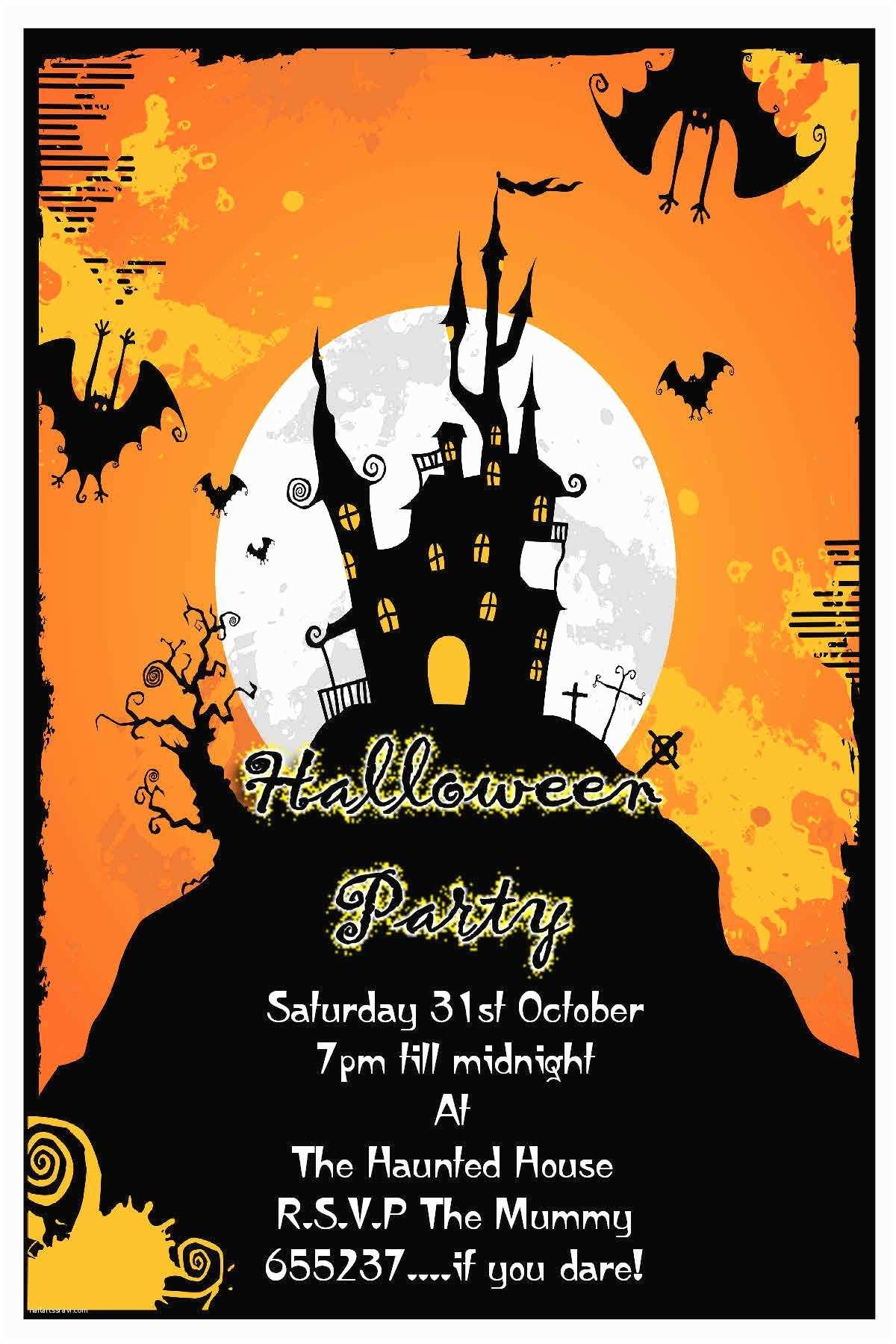 Halloween Party Invitation Ideas Party Invitations Awesome Design Halloween Party Invite