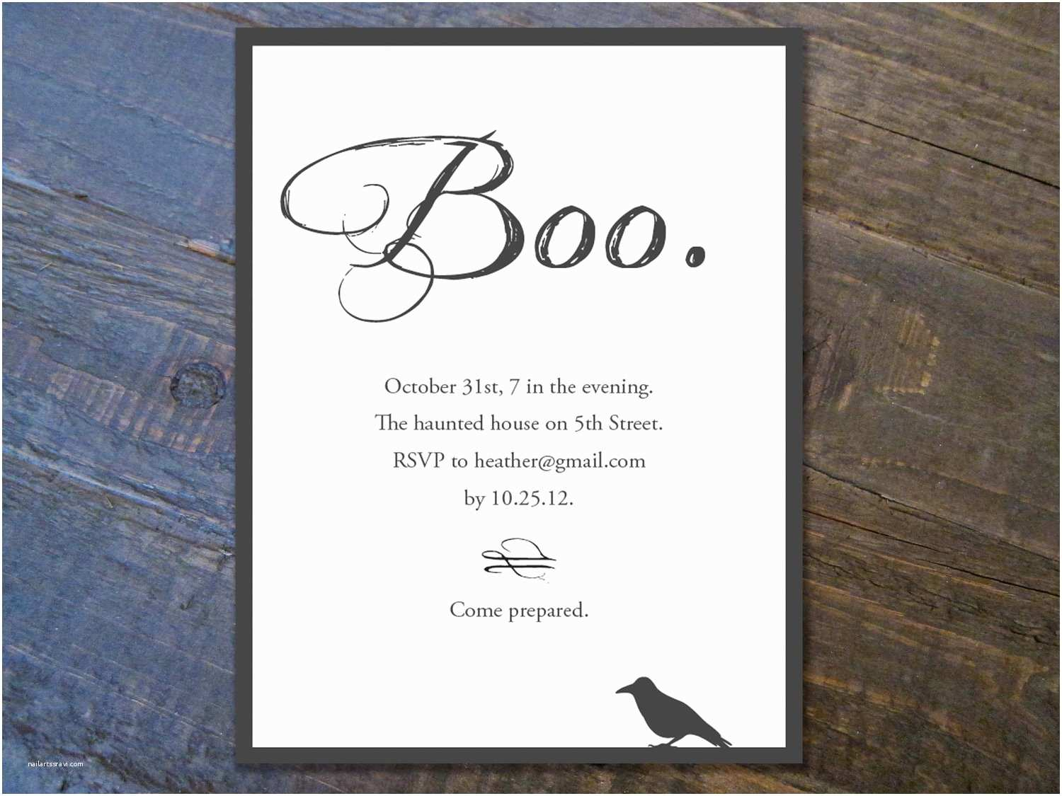Halloween Party Invitation Template Halloween Invitation Templates Free – Festival Collections