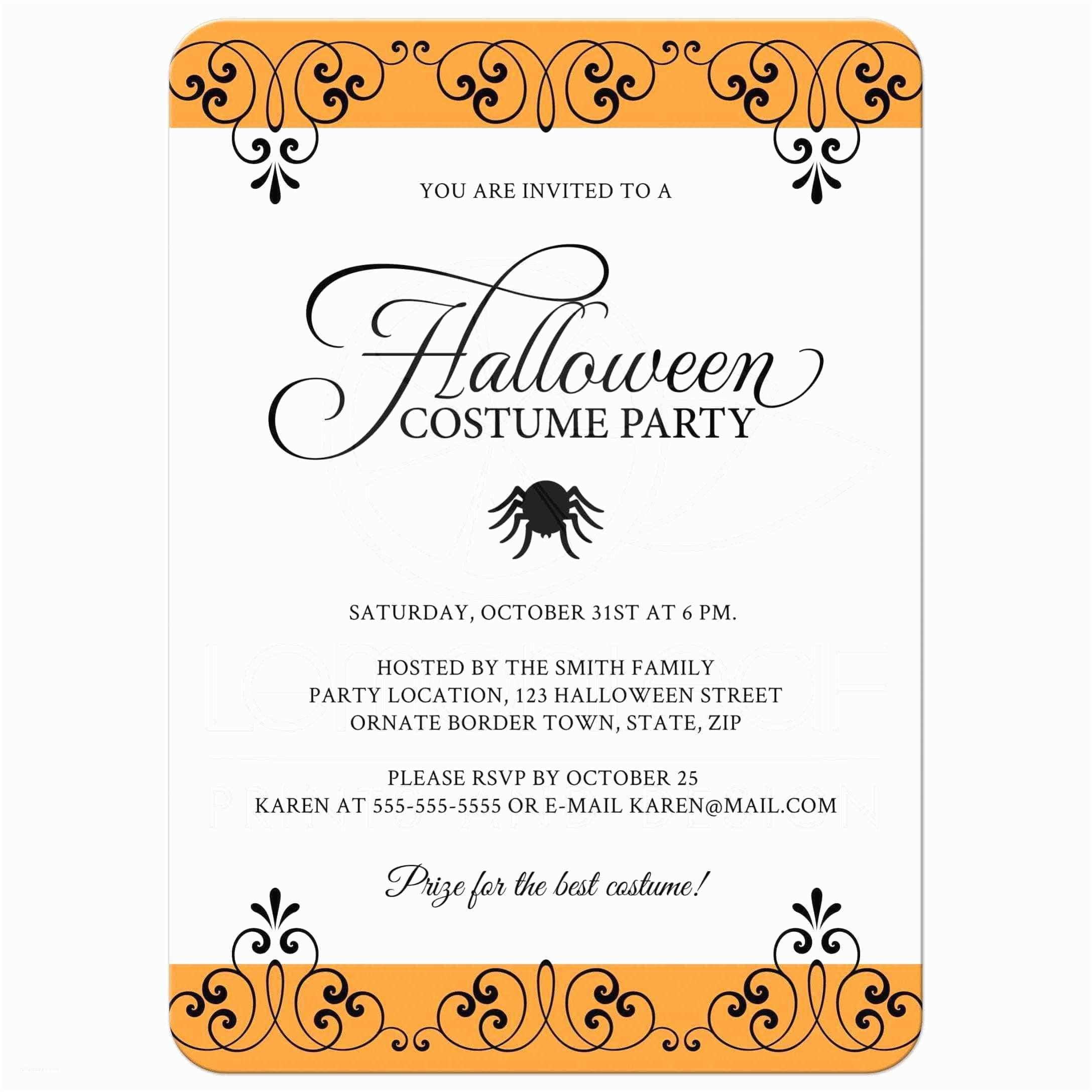 tips easy to create halloween party invitation wording designs ideas