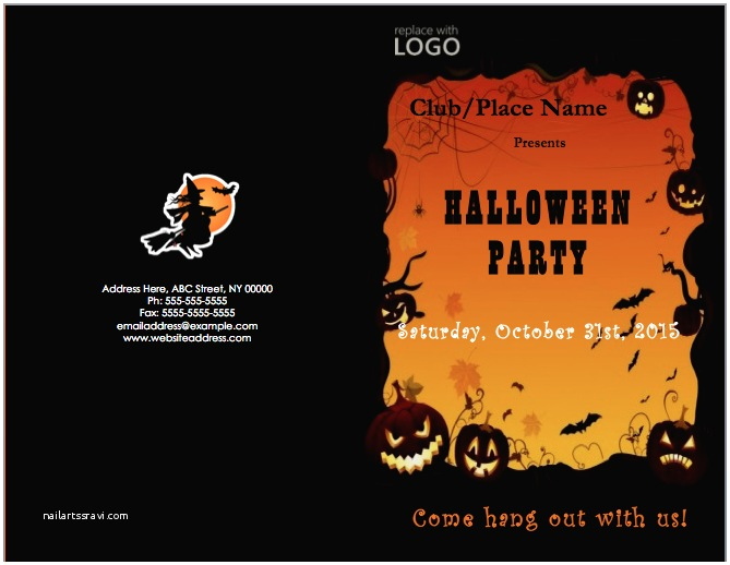 Halloween Party Invitations Templates Halloween Party Invitation Template – Microsoft Word Templates