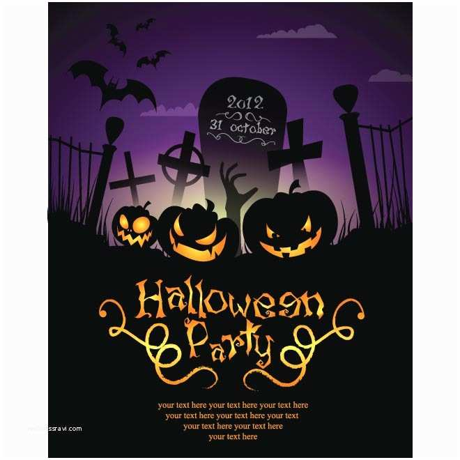 Halloween Party Invitations Templates Halloween Party Invitation Templates – Gangcraft