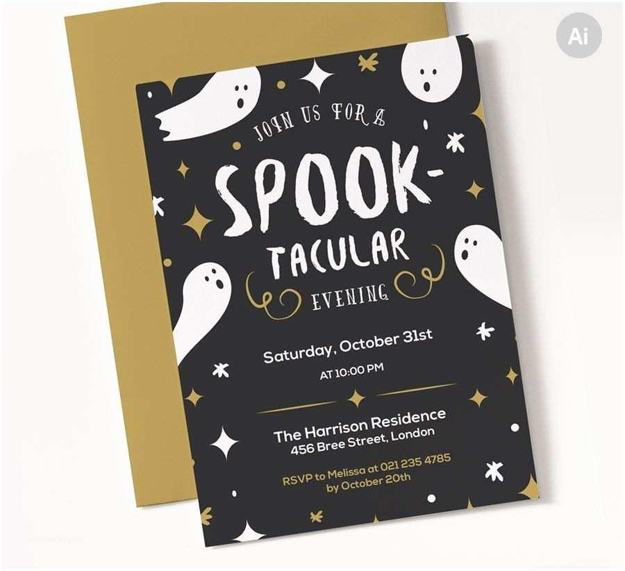 Halloween Party Invitations Templates Spooktacular Halloween Party Invite