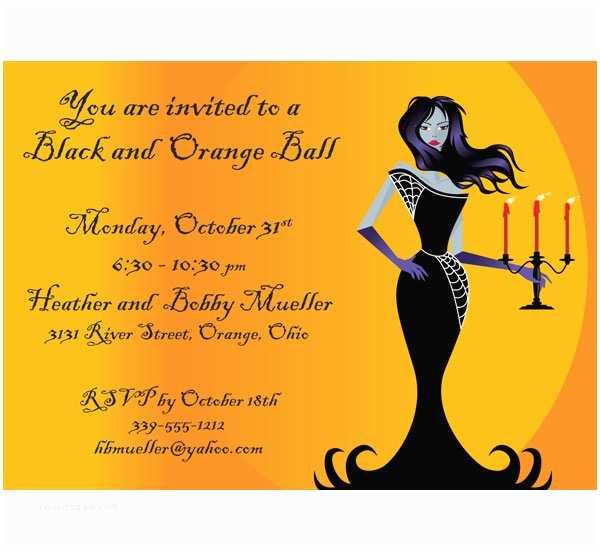 Halloween Party Invite Wording 6 Fine Halloween Potluck Invitation Wording Ebookzdb