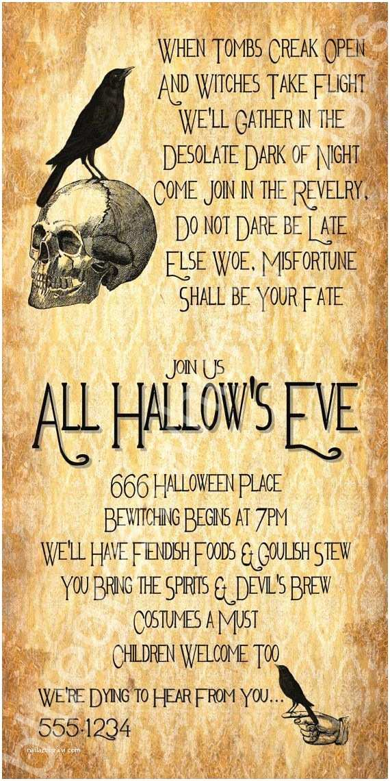 Halloween Party Invite Wording Best 25 Halloween Invitation Wording Ideas On Pinterest