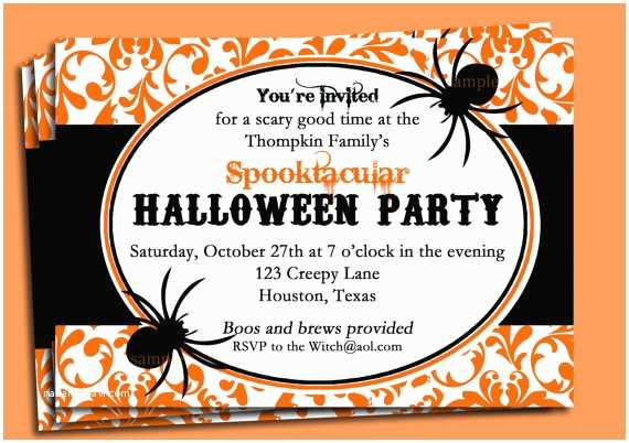 Halloween Party Invite Wording Fice Halloween Invitation Wordings – Festival Collections