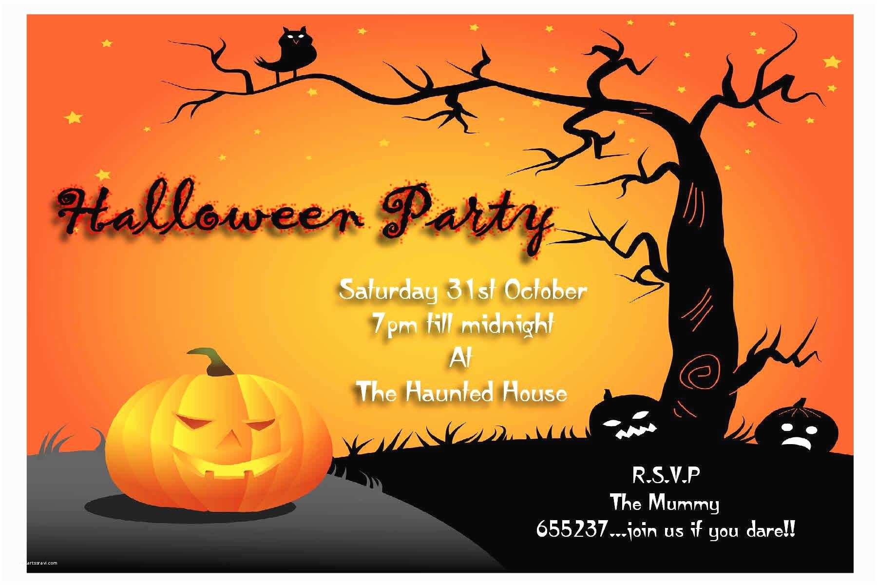 Halloween Party Invite Wording Halloween Party Invitation Wording