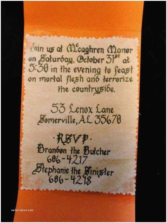 Halloween Party Invite Wording Halloween Party Invitations Diy