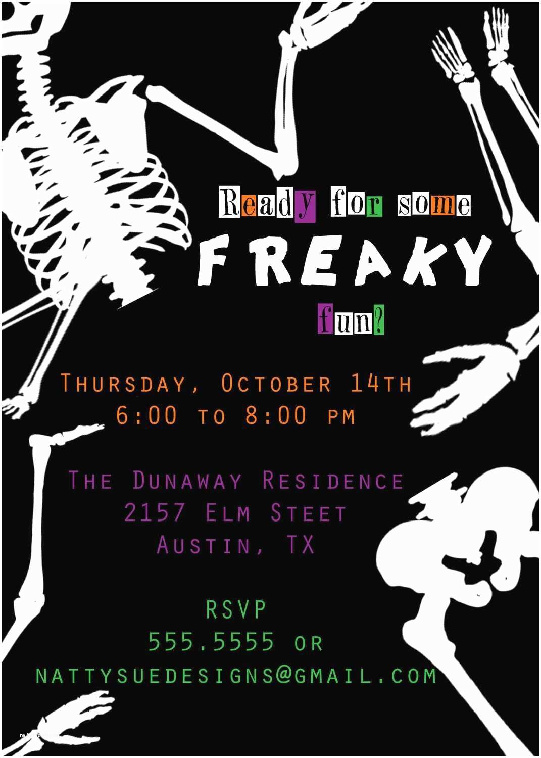 Halloween Party Invite Wording Scary Halloween Party Invitation Wording