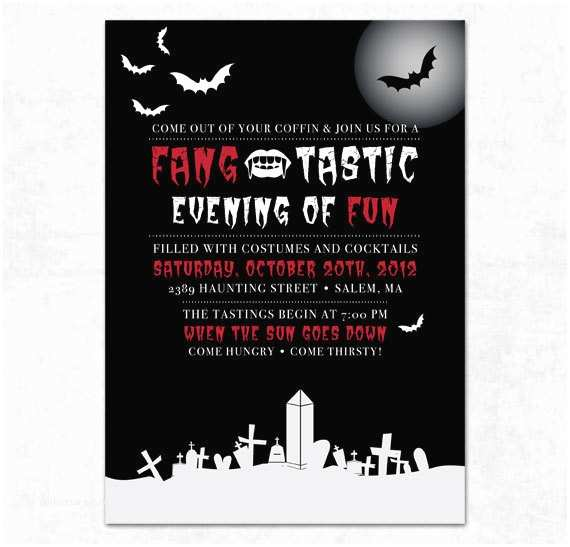 Halloween themed Birthday Party Invitations Items Similar to Printable Halloween Party Invitation