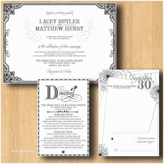 Halloween Wedding Invitations 58 Best Images About Monicas Wedding On