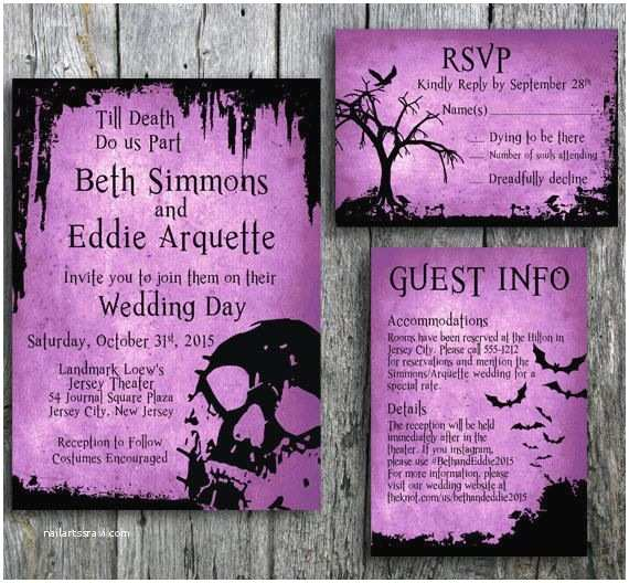 Halloween Wedding Invitations Best 25 Halloween Wedding Invitations Ideas On