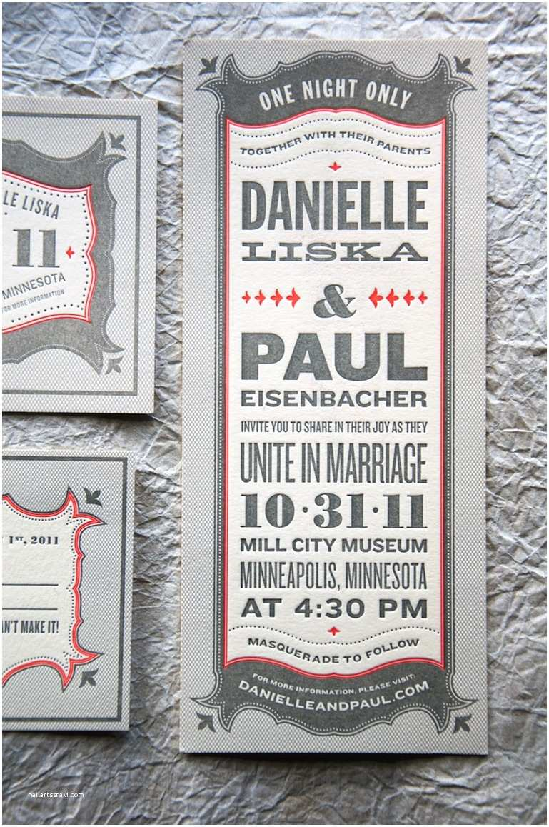 Wedding Invitations Danielle Paul S Vintage Inspired Marquee