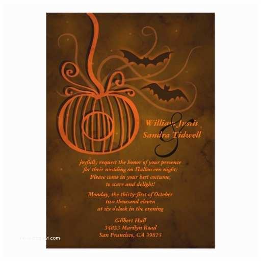 Halloween Wedding S Pumpkin Cage Halloween Wedding