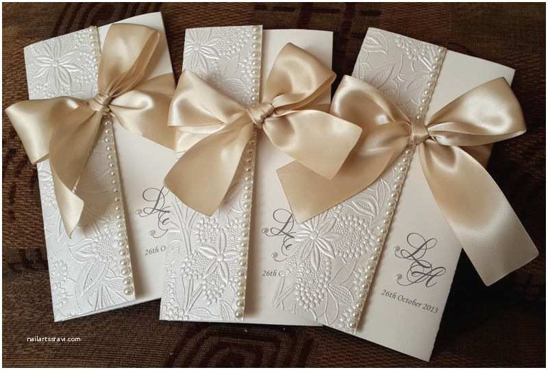 Handmade Wedding Invitations Beautiful Handmade Wedding Invitations