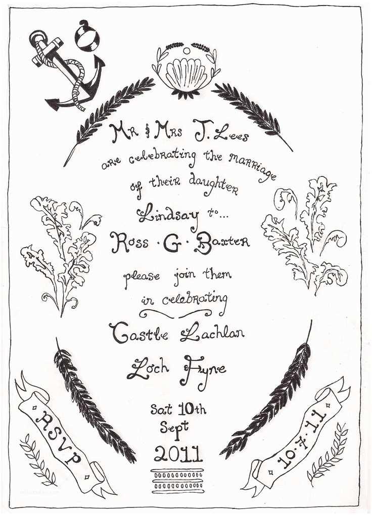 Handwritten Wedding Invitations 25 Best Handwritten Wedding Invitations Ideas On