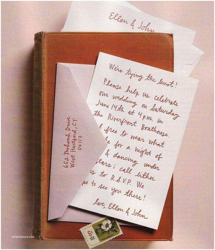 beautiful handwritten wedding invitations