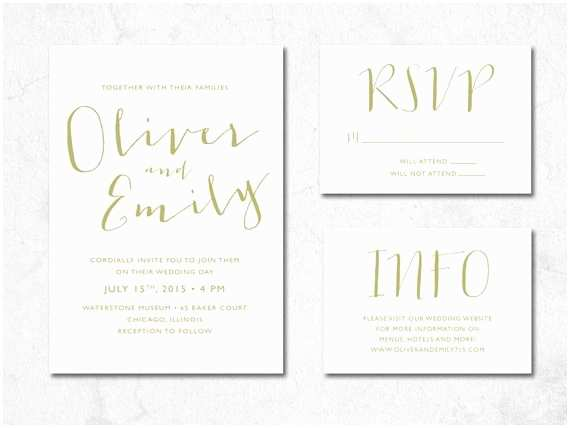 Handwritten Wedding Invitations Handwritten Wedding Invitation Printable Wedding Invitation