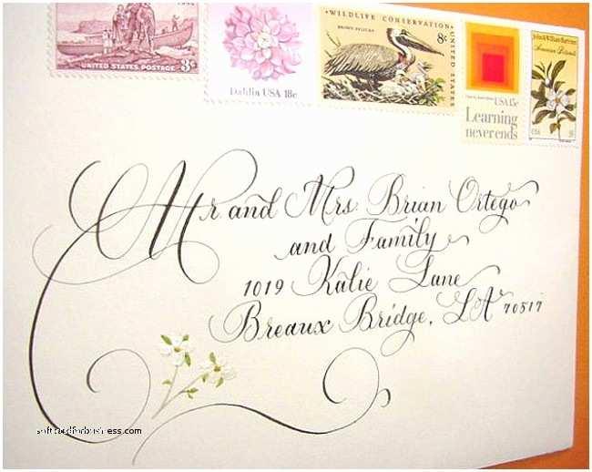 Handwritten Wedding Invitations Wedding Invitation Luxury Handwritten Wedding Invitations