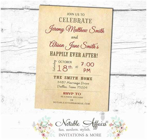 Happily Ever after Party Invitations 25 Best Ideas About Brunch Wedding Receptions On