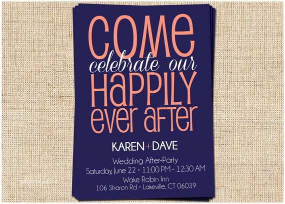 Happily Ever after Party Invitations after Party Couple S Shower Invitation E Celebrate by