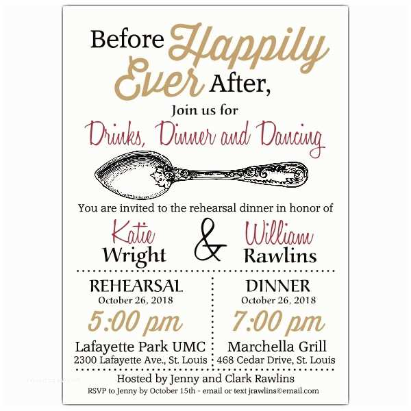 Happily Ever after Party Invitations before Happily Ever after Rehearsal Dinner Invitations