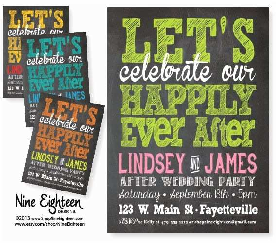 Happily Ever after Party Invitations Best 20 Wedding after Party Ideas On Pinterest