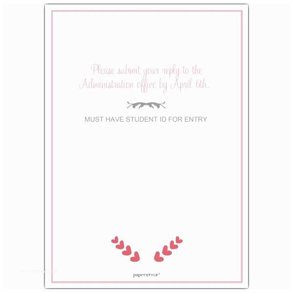 Happily Ever after Party Invitations Happily Ever after Prom Invitations