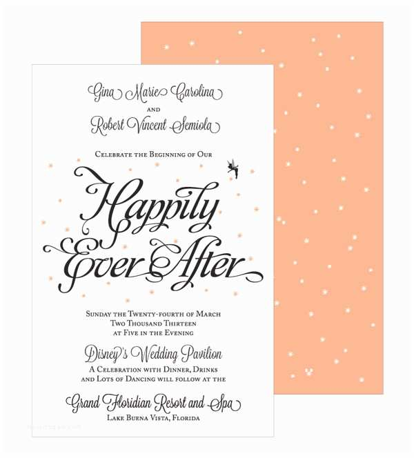 Happily Ever after Party Invitations Happily Ever after Wedding Invitations by Barbara Jane Va