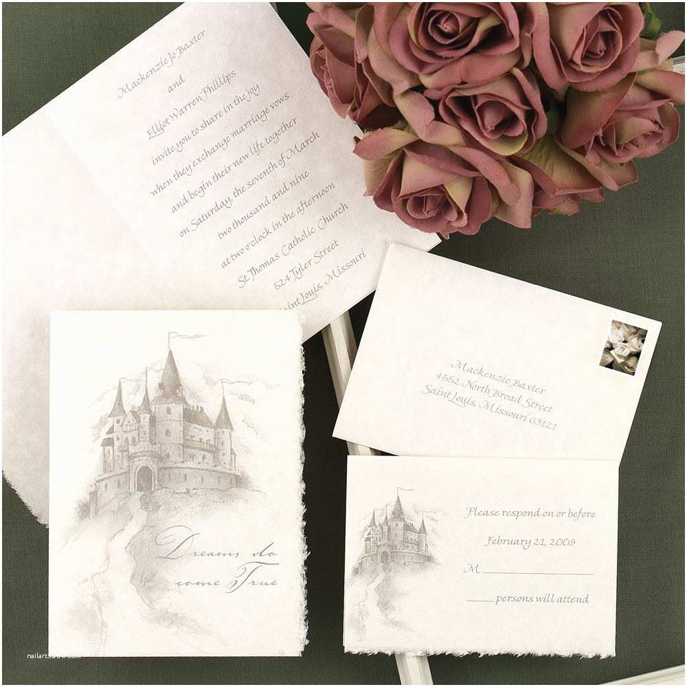 Happily Ever after Wedding Invitations Happily Ever after Invitation
