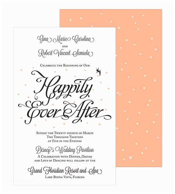 Happily Ever after Wedding Invitations Happily Ever after Wedding Invitations On Behance
