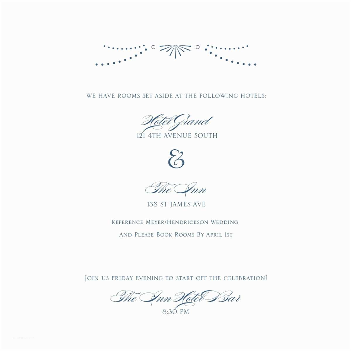 Happily Ever after Wedding Invitations Navy Blue and Ivory Wedding Invitation Happily Ever