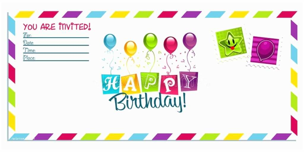 Happy Birthday Invitation Download Birthday Invitation Card Outstanding and to