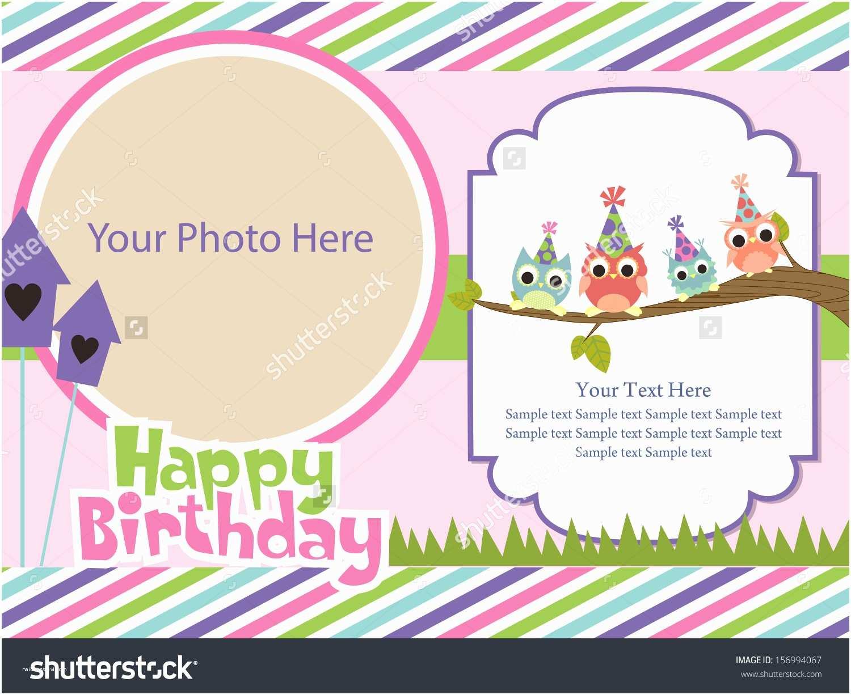 Happy Birthday Invitation Happy Birthday Invitation Card
