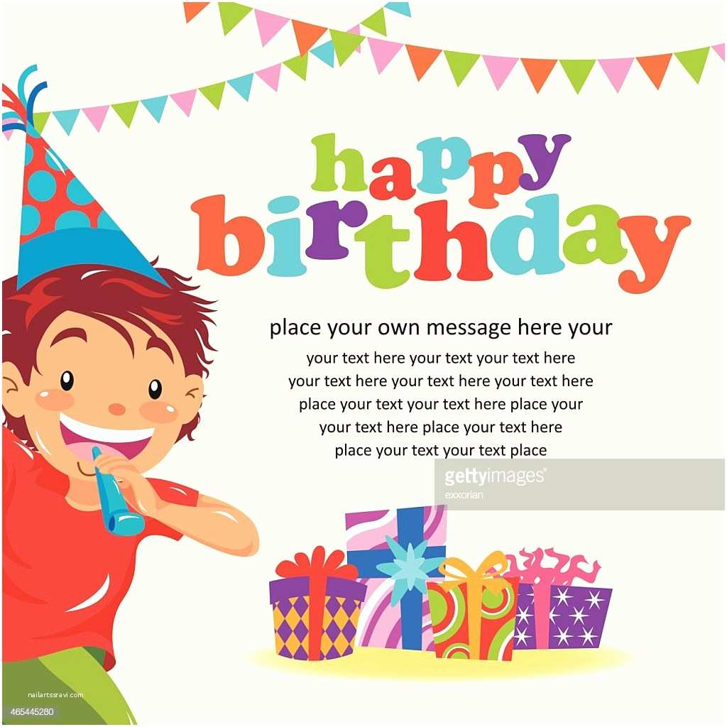 Happy Birthday Invitation Happy Birthday Invitation Vector Art