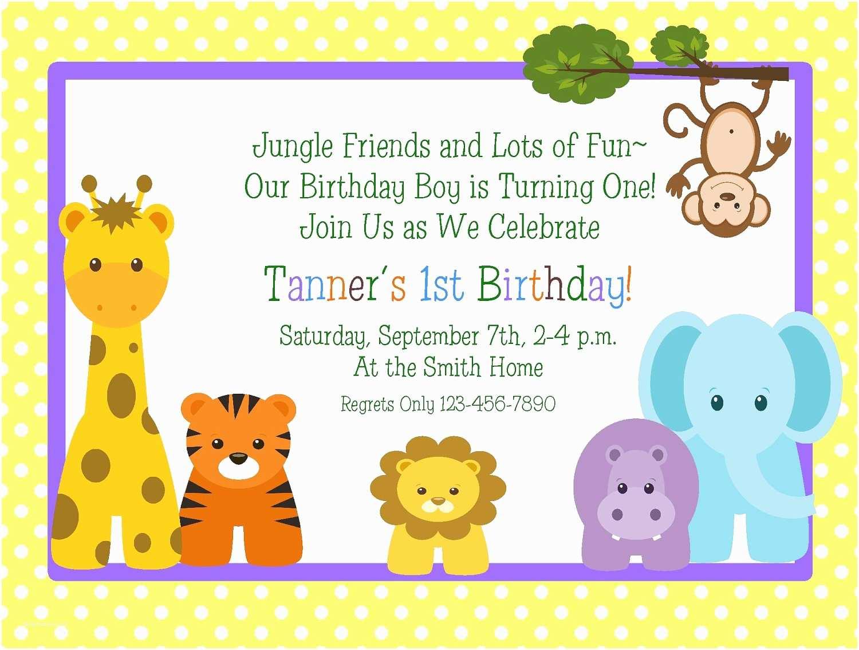 Happy Birthday Invitation Kids Birthday Party Invitations Wording