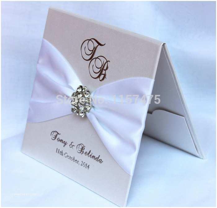 Hardcover Wedding Invitations Aliexpress Buy Hi1075 Exclusive Hardcover Luxury