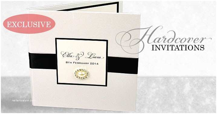 Hardcover Wedding Invitations Diy Boxes Archives Invitation Ideas