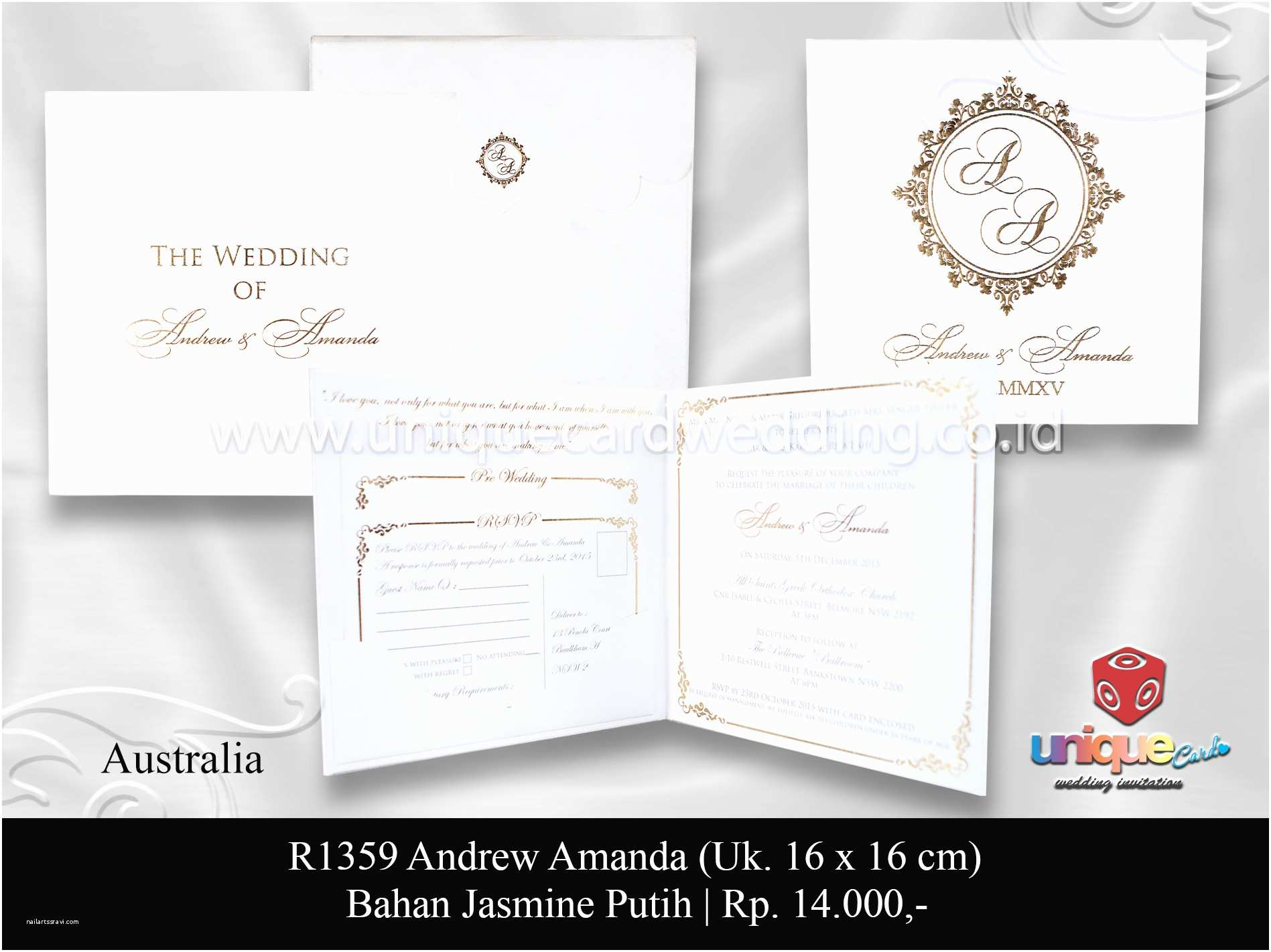 Hardcover Wedding Invitations Hardcover Unique Card Wedding Invitation