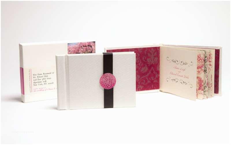Hardcover Wedding Invitations Shana Edward's Hardcover Book Wedding Invitations
