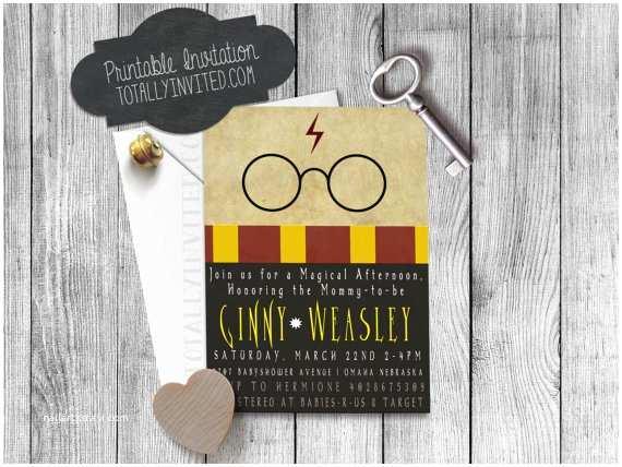 Harry Potter Baby Shower Invitations Harry Potter Baby Shower Invitations