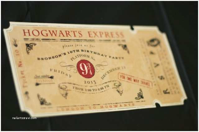Harry Potter Birthday Invitations Harry Potter Party Ideas Archives anders Ruff Custom