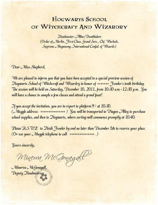 Harry Potter Birthday Party Invitations Harry Potter Party Invitations by Owl Post